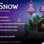 5sec Snow WordPress Plugin 1.60