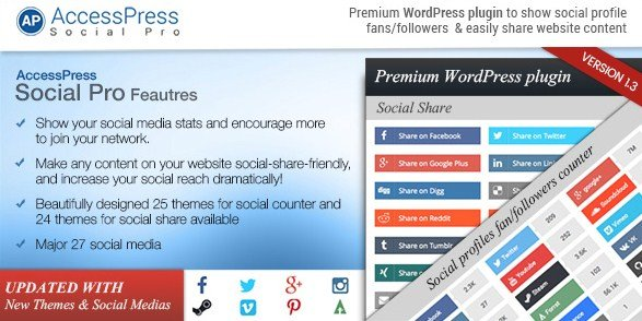 AccessPress Social Pro WordPress Plugin 1.3.7