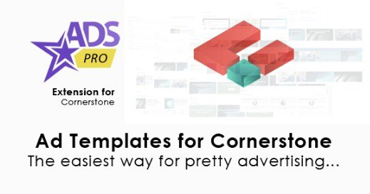 Ads Pro Cornerstone Extension – Ad Templates 1.0.1