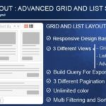 Advance Post Grid List With Custom Filtering For Visual Composer 3.8