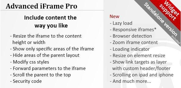 Advanced iFrame Pro 7.6