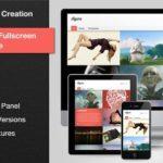 Agera Responsive Fullscreen Portfolio WP Theme 1.2.5