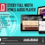 Apollo – Sticky Full Width HTML5 Audio Player Plugin 1.9