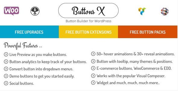 Buttons X – Powerful Button Builder for WordPress 1.9.62