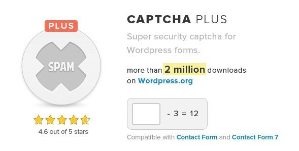 Captcha Plus WordPress Plugin 5.0.1