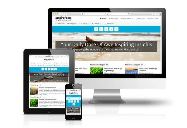 CobaltApps InspirePress Skin for Dynamik Website Builder 1.0