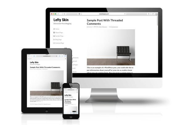 CobaltApps Lefty Skin For Dynamik Website Builder 1.0