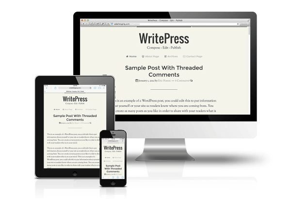 CobaltApps WritePress Skin for Dynamik Website Builder 1.0