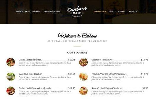 CSS Igniter Carbone WordPress Theme 1.1
