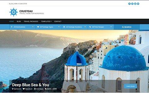 CSS Igniter Cousteau WordPress Theme 1.6
