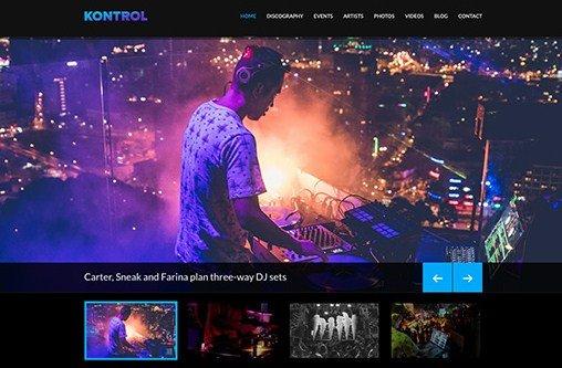 CSS Igniter Kontrol WordPress Theme 1.7