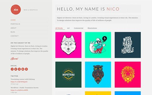 CSS Igniter Nico WordPress Theme 2.5