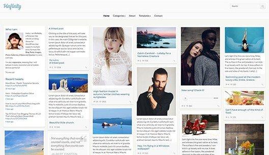 CSS Igniter Pinfinity WordPress Theme 2.1