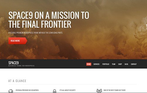 CSS Igniter Space9 WordPress Theme 2.1