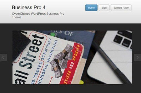 CyberChimps Business Pro 4 WordPress Theme 4.1