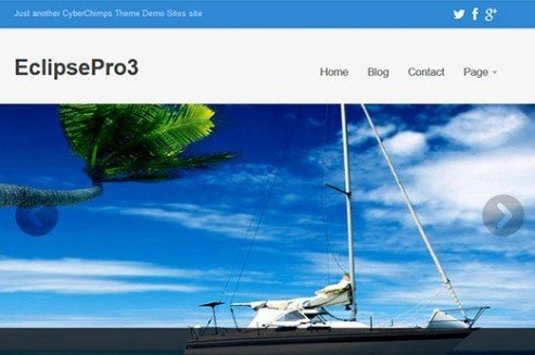 CyberChimps Eclipse Pro 3 WordPress Theme 3.3