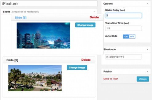 CyberChimps iFeature Slider Pro WordPress Plugin 1.1