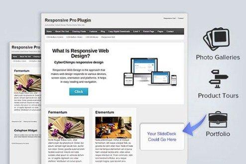 CyberChimps Responsive Pro WordPress Plugin 1.2