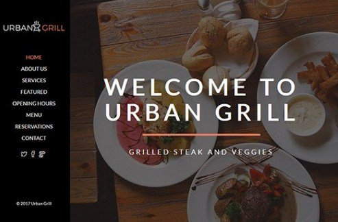 CyberChimps Urban Grill WordPress Theme 1.0
