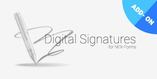 Digital Signatures for NEX-Forms 7.2
