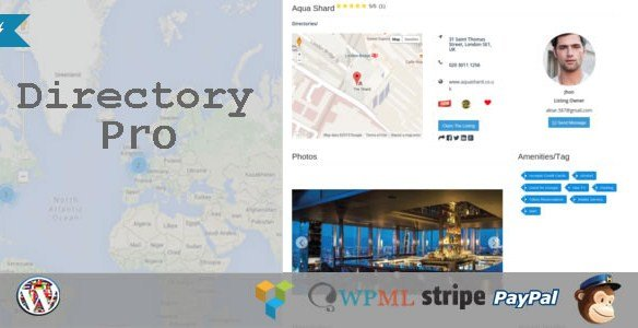 Directory Pro WordPress Plugin 1.5.7