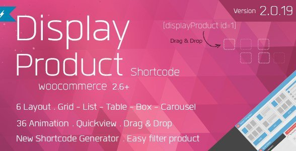 Display Product – Multi-Layout For WooCommerce 2.1.2