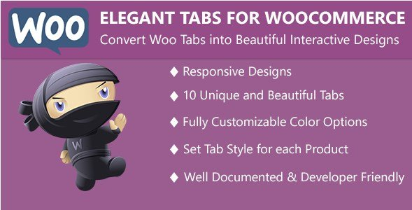 Elegant Tabs for WooCommerce 2.3.0