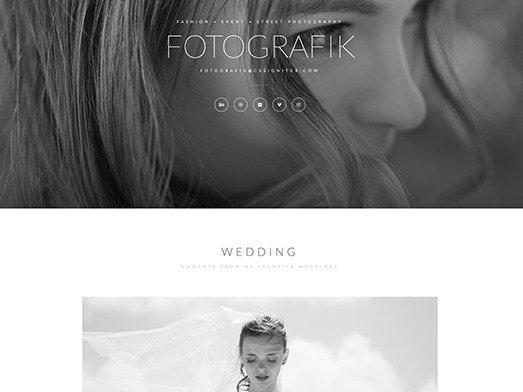 Elementorism Fotografik Landing Page 1.0