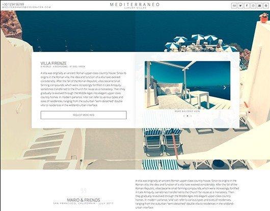 Elementorism Mediterraneo Landing Page 1.0