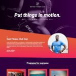 Elementorism Motion Landing Page 1.0
