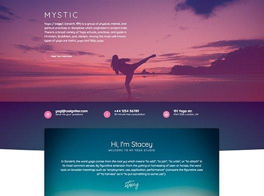 Elementorism Mystic Landing Page 1.0