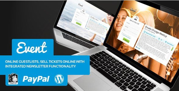 Event Guest List WordPress Theme 1.7