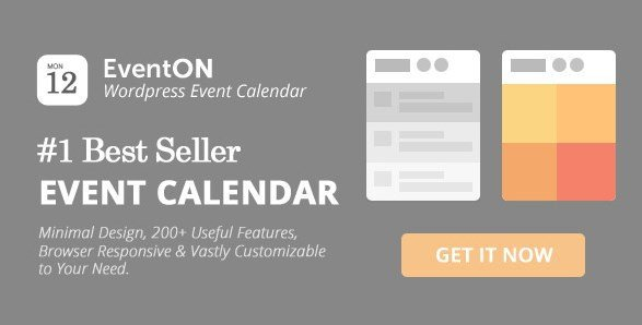 EventOn – WordPress Event Calendar Plugin 2.6.11