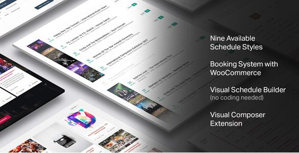 Events Schedule – WordPress Plugin 2.5.8.2