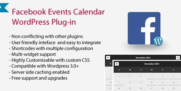 Facebook Events Calendar WordPress Plugin 4.9.6