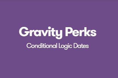 Gravity Perks Conditional Logic Dates 1.0.6