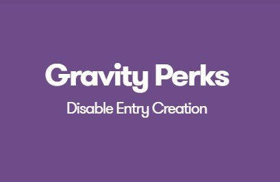 Gravity Perks Disable Entry Creation 1.0.8