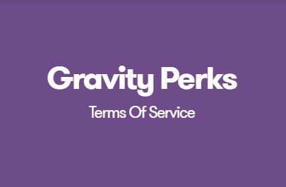 Gravity Perks Terms Of Service 1.3.9