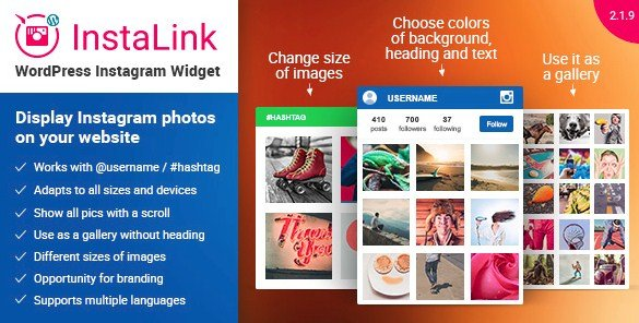 Instagram Widget – Instagram for WordPress 2.1.10