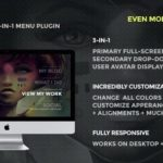 Jumbo – A 3-in-1 Full-Screen Menu For WordPress 3.3