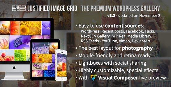 Justified Image Grid – Premium WordPress Gallery 3.9.2