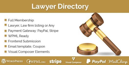 Lawyer Directory WordPress Plugin 1.2.0