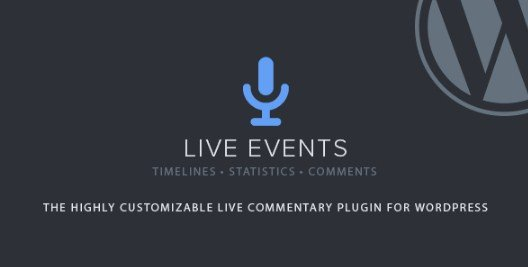 Live Events WordPress Plugin 1.21