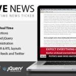 Live News – Real Time News Ticker 2.09