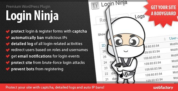 Login Ninja WordPress Plugin 1.65