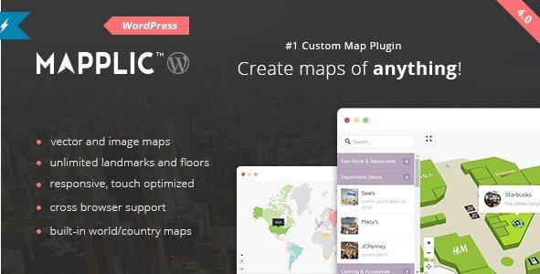 Mapplic – Custom Interactive Map WordPress Plugin 4.2