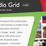 Media Grid WordPress Responsive Portfolio Plugin 6.4
