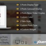 Mega Posts and Custom Posts Display WP Plugin 1.1