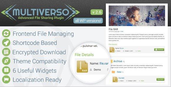 Multiverso – Advanced File Sharing Plugin 2.6