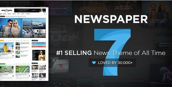 Newspaper Wordpress Themes 9.2.1
